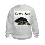Turtles Rock Kids Sweatshirt