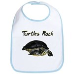 Turtles Rock Bib