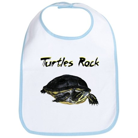 Turtles Rock Bib