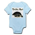Turtles Rock Infant Bodysuit