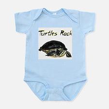 Turtles Rock Infant Bodysuit