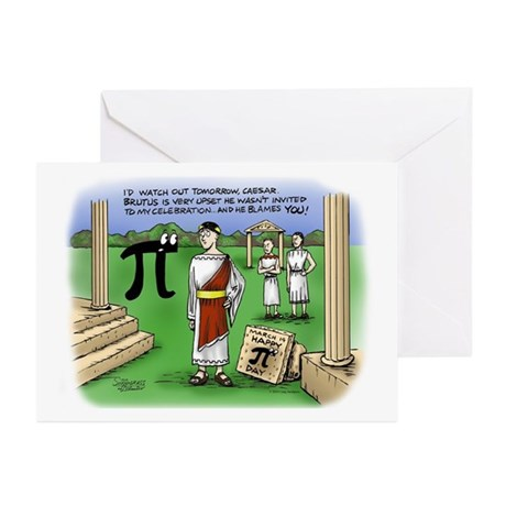 Ides of March Greeting Cards (Pk of 10)