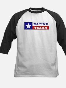Native Texan Kids Baseball Jersey
