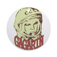 Gagarin Ornament (Round)