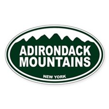 Adirondack Mountains Decal