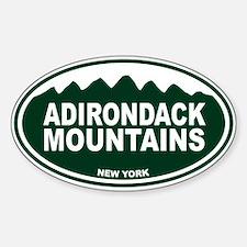 Adirondack Mountains Decal