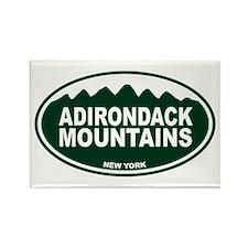 Adirondack Mountains Rectangle Magnet