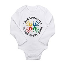 Chiro Is For Every Body Long Sleeve Infant Bodysui