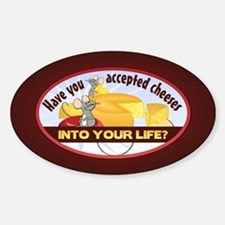 Accept Cheeses Decal