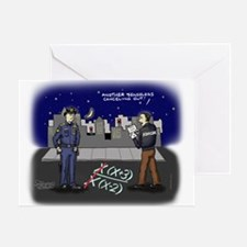 Canceling Out Greeting Card