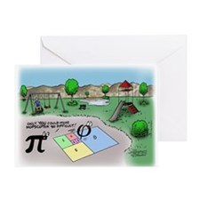 Fibonacci Hopscotch Greeting Card