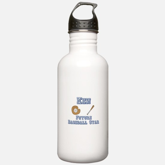 Ken - Future Baseball Star Water Bottle