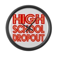 High school Large Wall Clock