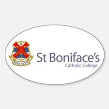 Cute Stbonifaces Sticker (Oval)