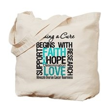 Finding A Cure OvarianCancer Tote Bag
