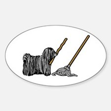 Puli Mop Decal