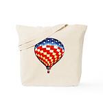 American Hot Air Balloon Tote Bag