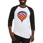 American Hot Air Balloon Baseball Jersey