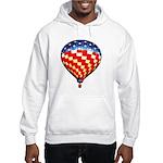 American Hot Air Balloon Hooded Sweatshirt