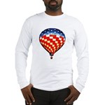 American Hot Air Balloon Long Sleeve T-Shirt