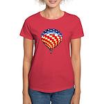 American Hot Air Balloon Women's Dark T-Shirt