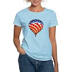 American Hot Air Balloon Women's Light T-Shirt