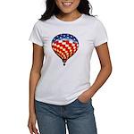 American Hot Air Balloon Women's T-Shirt