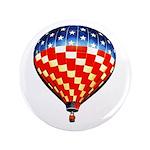 "American Hot Air Balloon 3.5"" Button"