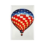 American Hot Air Balloon Rectangle Magnet