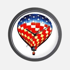 American Hot Air Balloon Wall Clock