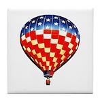 American Hot Air Balloon Tile Coaster
