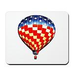American Hot Air Balloon Mousepad