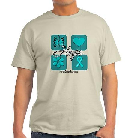 Ovarian Cancer Inspire Light T-Shirt