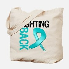 Ovarian Cancer FightingBack Tote Bag