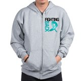Ovarian cancer apparel Zip Hoodie