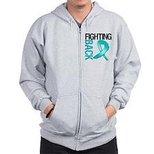 Ovarian Cancer FightingBack Zipped Hoody