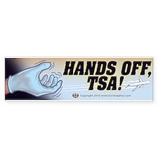 Hands Off TSA 2 Bumper Sticker