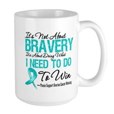 Ovarian Cancer Bravery Mug