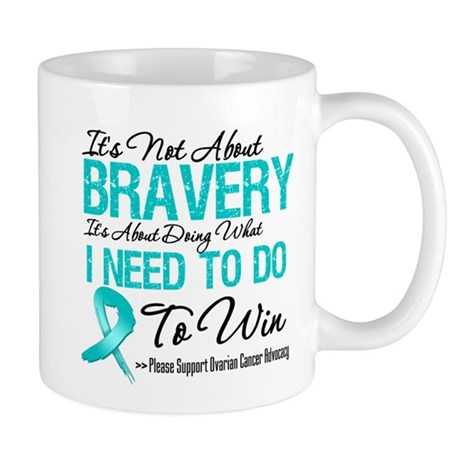 Ovarian Cancer Bravery Mug
