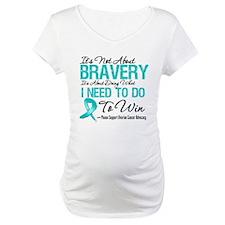 Ovarian Cancer Bravery Shirt
