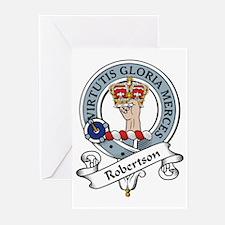 Robertson Clan Badge Greeting Cards (Pk of 10)