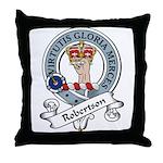 Robertson Clan Badge Throw Pillow