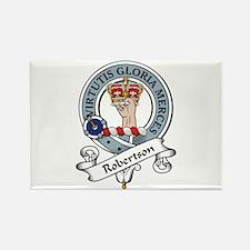 Robertson Clan Badge Rectangle Magnet (10 pack)
