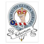 Robertson Clan Badge Small Poster