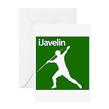 iJavelin Greeting Card