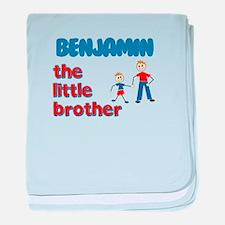 Benjamin - The Little Brother baby blanket