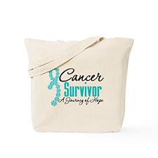 OvarianCancer SurvivorJourney Tote Bag