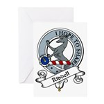 Riddell Clan Badge Greeting Cards (Pk of 10)