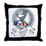 Riddell Clan Badge Throw Pillow