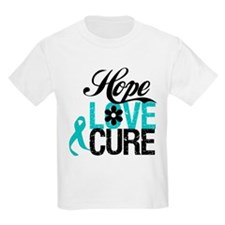 OvarianCancer HopeLoveCure T-Shirt